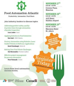 Food Automation Atlantic @ Halifax Airport